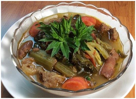 Cách nấu bò kho dưa cải thơm ngon chuẩn vị đơn giản nhất hình 1
