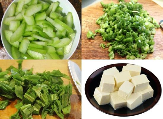 Cách nấu canh bí đao chay hình 2