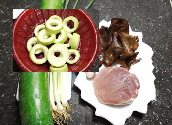 Cách nấu canh bí đao dồn thịt hình 2