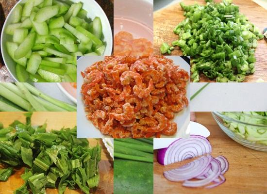 Cách nấu canh bí đao tôm khô hình 2