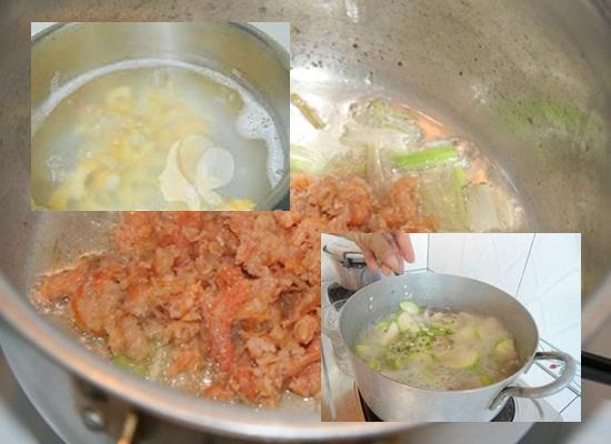 Cách nấu canh bí đao tôm khô hình 3