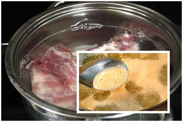 Cách nấu lẩu ếch hình 4