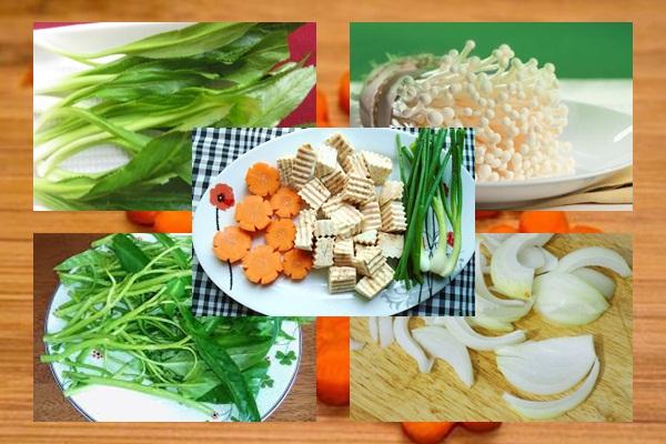 Cách nấu lẩu vịt hình 3