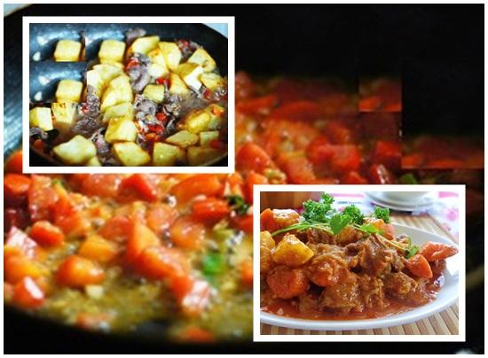 Cách nấu món thịt bò kho khoai tây cà chua cà rốt chuẩn kiểu Pháp hình 3