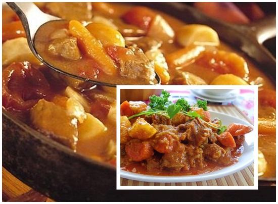 Cách nấu món thịt bò kho khoai tây cà chua cà rốt chuẩn kiểu Pháp hình 4
