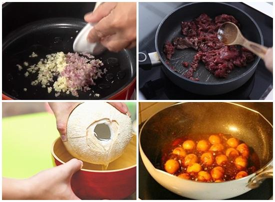 Cách nấu thịt bò kho tàu kiểu Nghệ An thơm ngon ngày Tết hình 3
