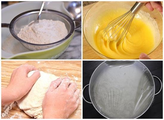 Cách làm bánh bao bằng bột khai vẫn thơm ngon hấp dẫn dễ làm hình 3