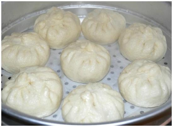 Cách làm bánh bao bằng bột khai vẫn thơm ngon hấp dẫn dễ làm hình 6