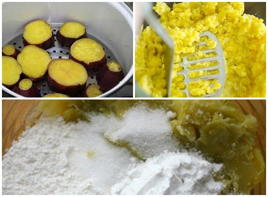 Cách làm bánh bao khoai lang vàng đơn giản thanh đạm mà ngon hình 2