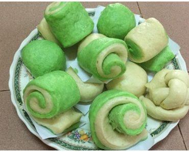 Cách làm bánh bao lá dứa chay vừa ngon vừa đẹp tại nhà hình 1