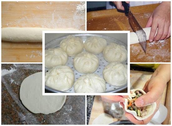 Cách làm bánh bao nhân gạch cua chuẩn vị đơn giản bổ dưỡng hình 4