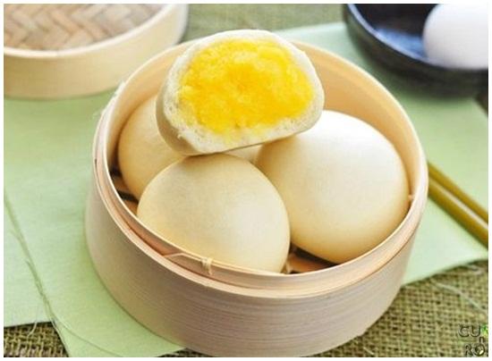 Cách làm bánh bao sữa trứng cực kỳ hấp dẫn và thơm ngon mới lạ hình 1
