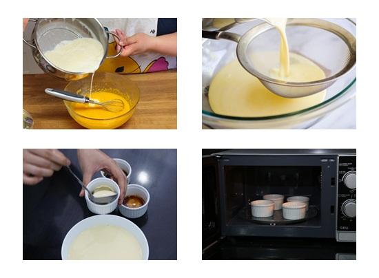 Cách làm bánh flan cho bé ăn dặm ngon miệng bổ và đơn giản hình 3