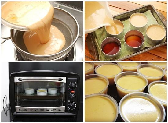 Cách làm bánh flan với cà phê siêu đơn giản siêu thơm ngon hình 3