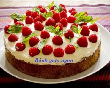 Cách làm bánh gato sinh nhật dễ nhất đơn giản nhất ngon nhất hình 1