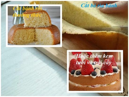 Cách làm bánh gato sinh nhật dễ nhất đơn giản nhất ngon nhất hình 4