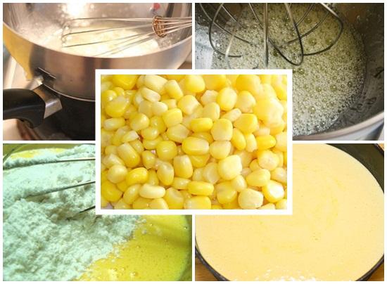 Cách làm bánh kem bắp kiểu Pháp ngon và đơn giản tại nhà hình 2