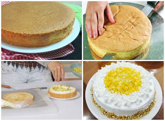 Cách làm bánh kem bắp kiểu Pháp ngon và đơn giản tại nhà hình 3