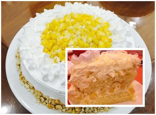 Cách làm bánh kem bắp kiểu Pháp ngon và đơn giản tại nhà hình 4