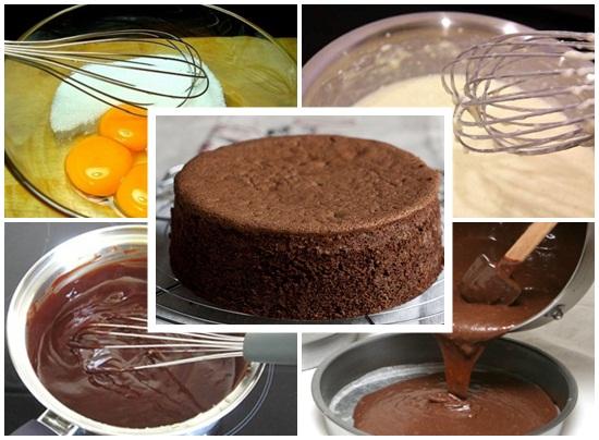Cách làm bánh kem socola sinh nhật tại nhà cực ngon mà đơn giản hình 2