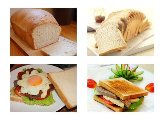 Cách làm bánh mì sandwich ăn sáng cực ngon và đơn giản tại nhà hình 4