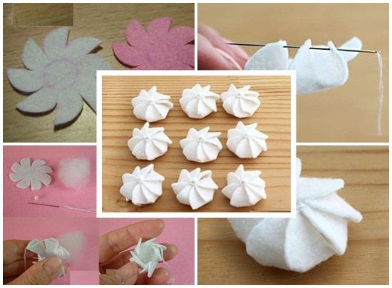 Cách làm bánh sinh nhật handmade bằng vải nỉ đẹp nhất xinh nhất hình 5