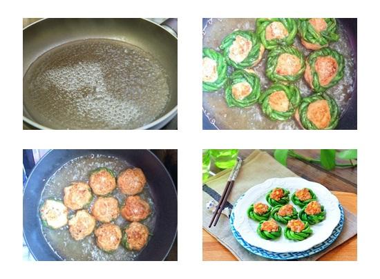Cách làm món chả cá bọc đậu đũa đơn giản cực ngon lạ vị nhất hình 4