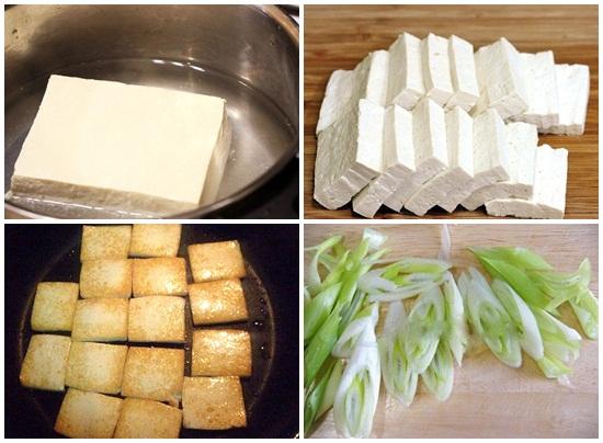 Cách làm món kim chi xào đậu phụ ngon ngay tại nhà đơn giản hình 2