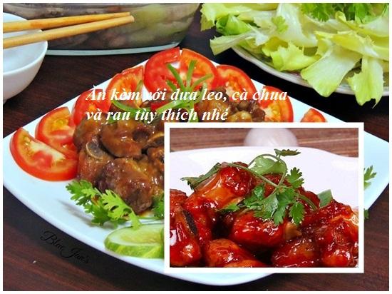 Cách làm sườn xào chua ngọt bằng tương ớt thơm ngon nức tiếng hình 4