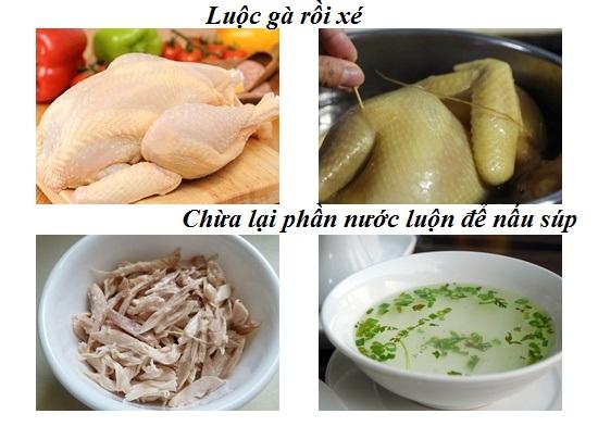 Cách nấu súp gà hạt sen cho bé ngon và bổ nhất ngay tại nhà hình 2