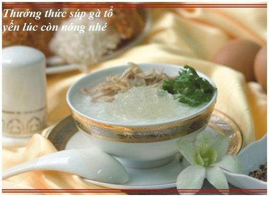 Cách nấu súp gà tổ yến bổ dưỡng hấp dẫn đơn giản nhất tại nhà hình 4