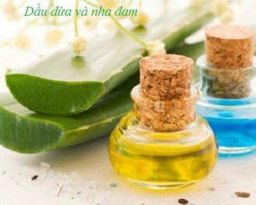 Công thức dưỡng ẩm cho làn da cực tốt từ dầu dừa và nha đam hình 1