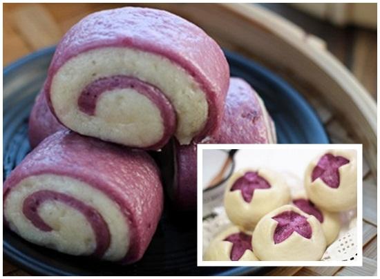 Hướng dẫn cách làm bánh bao 2 màu ngon đẹp cho bữa sáng hình 6