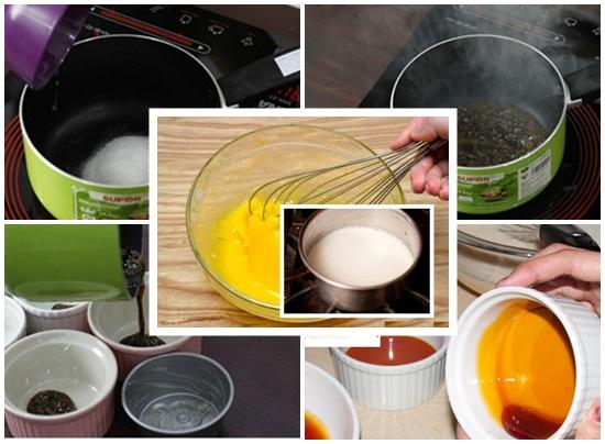 Hướng dẫn cách làm bánh flan bằng nồi cơm điện siêu nhanh hình 2