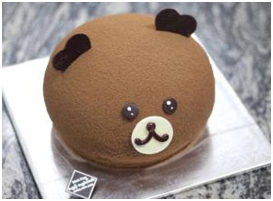Hướng dẫn cách làm bánh kem hình gấu đáng yêu ngộ nghĩnh hình 1