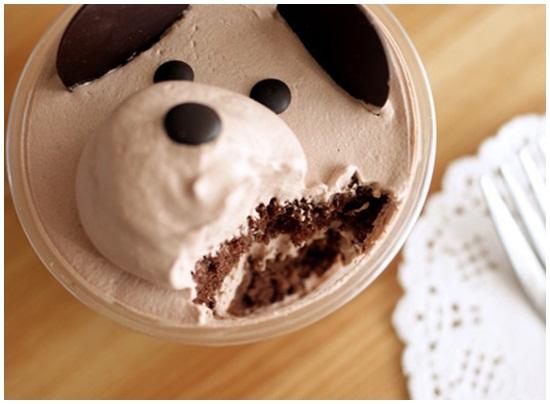 Hướng dẫn cách làm bánh kem hình gấu đáng yêu ngộ nghĩnh hình 4
