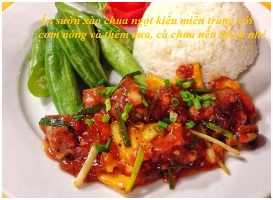 Hướng dẫn cách làm món sườn xào chua ngọt miền trung hấp dẫn hình 4