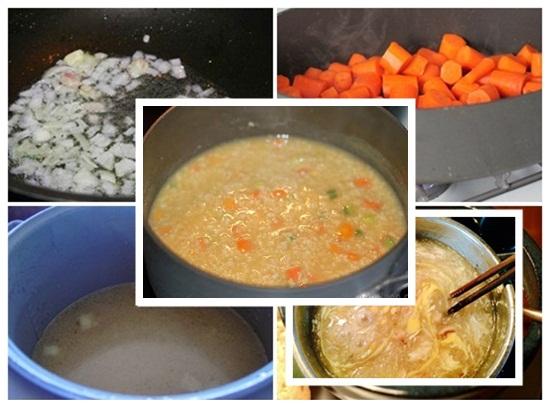 Hướng dẫn cách nấu súp gà tôm ngon nhất đơn giản nhất tại nhà hình 3