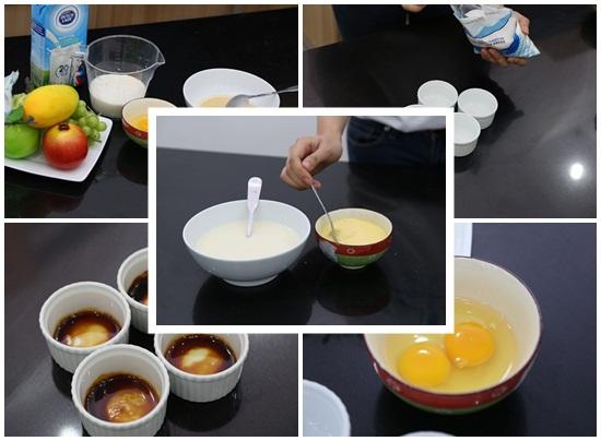 Hướng dẫn công thức làm bánh flan bằng lò vi sóng hình 2