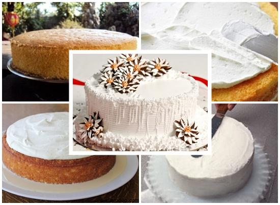 Hướng dẫn làm bánh kem sữa tươi ngon đơn giản ngay tại nhà hình 4