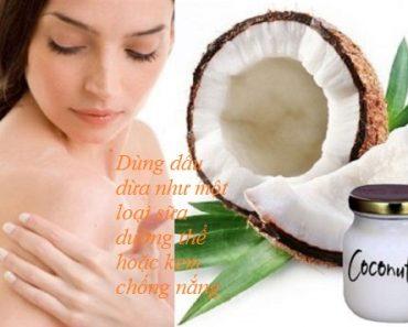 Làm đẹp với dầu dừa với 5 tác dụng tuyệt vời cực kỳ hiệu quả hình 1