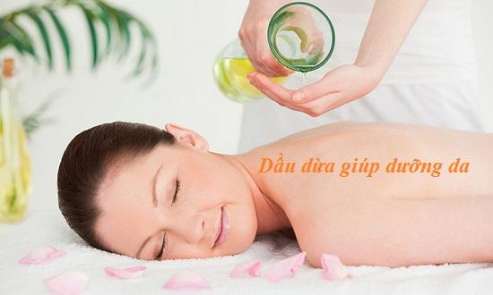 Tác dụng của dầu dừa trong việc làm đẹp da và trị mụn cho da hình 2