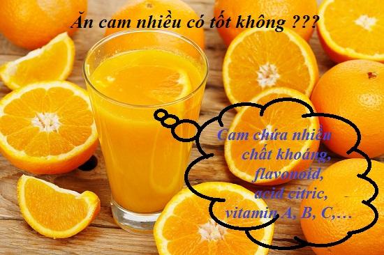 Ăn cam nhiều có tốt không? Ăn cam thế nào cho đúng cách hình 1
