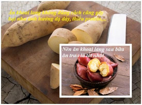 Ăn khoai lang có bị nóng không và có bị nổi mụn hay không hình 4