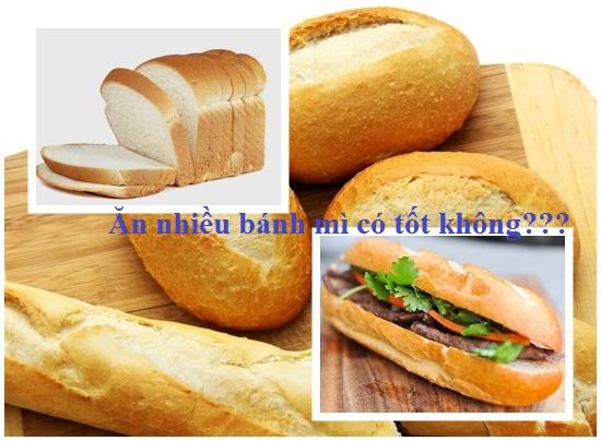 Ăn nhiều bánh mì có tốt không? Ăn bánh mì có lợi hay hại hình 1