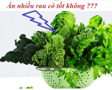 Ăn nhiều rau có tốt không? Ăn rau quả có những tác dụng gì? hình 1