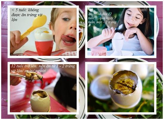 Ăn nhiều trứng vịt lộn có tốt không? Ăn sao cho đúng cách hình 3