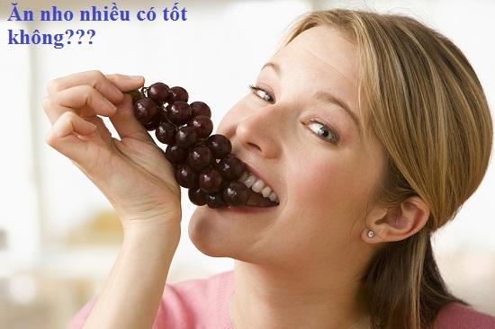 Ăn nho nhiều có tốt không? Những điều bất ngờ mà bạn nên biết hình 1