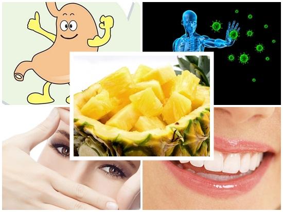 Ăn thơm (dứa) nhiều có tốt không? Lợi và hại khi ăn dứa? hình 2