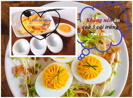 Ăn trứng gà nhiều có tốt không? Ăn trứng gà có béo không hình 3